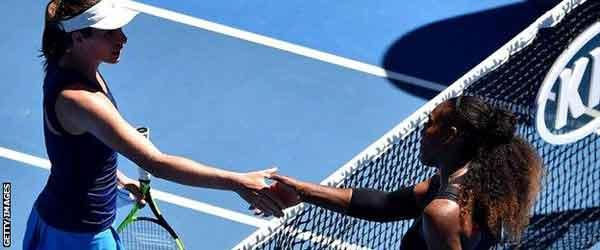 Superb Serena Williams ends Konta hopes