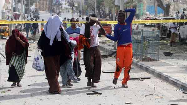 Gunmen launch fatal Somali hotel attack