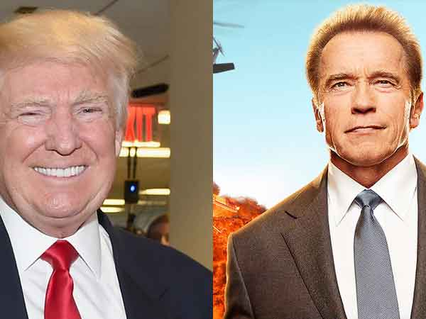 Trump taunts Schwarzenegger over ratings