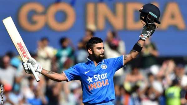 Kohli named India limited-overs captain