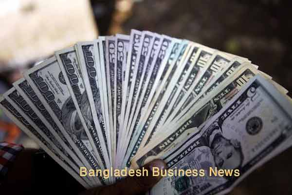 Bangladesh Taka depreciates two paisa more against US$