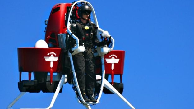 Jetpacks to be part of future cities