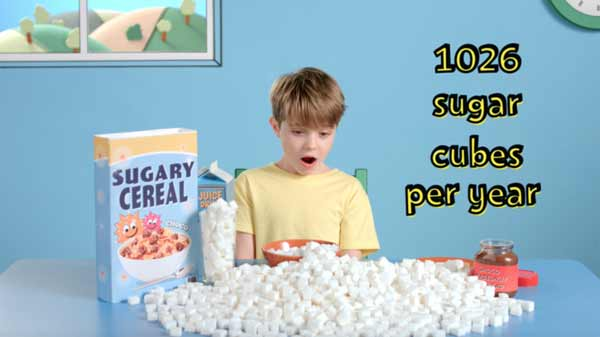 Kids devouring too much 'breakfast sugar' warning
