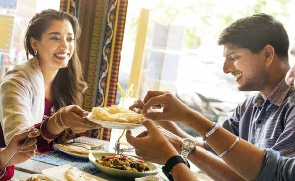 Optional service charges at India restaurants