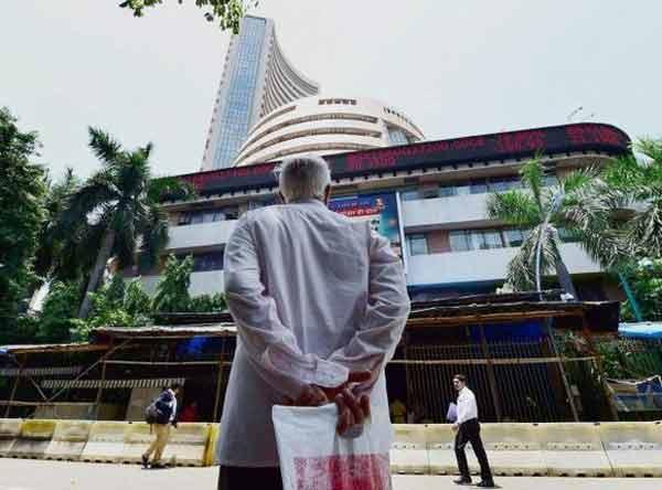 Sensex ends marginally higher