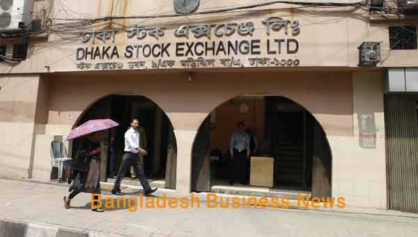 Bangladesh's stocks see positive at midday