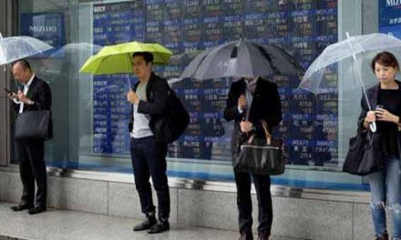 Asian markets mostly lower on Thursday