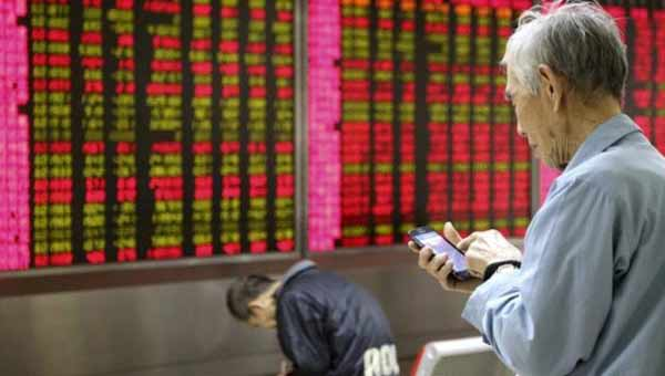 Asian stocks trades mostly lower