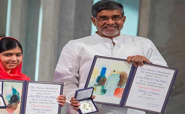 Kailash Satyarthi's Nobel replica stolen