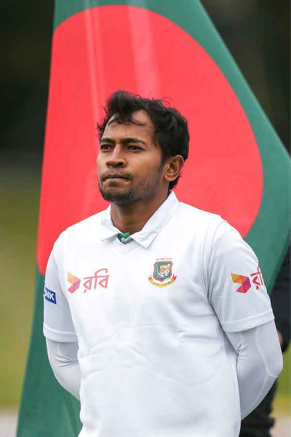 Bangladesh wary of Ashwin, Jadeja ahead of one-off Test: Mushfiq