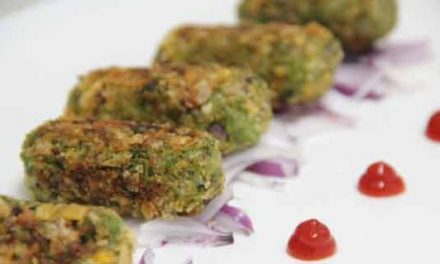 Green Peas Kebab is a perfect party snack!