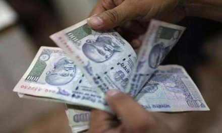 Indian Rupee firms up by 8 paisa to 64.77