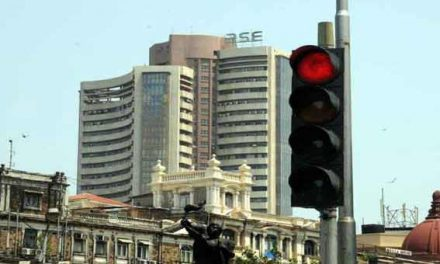 Sensex down 43 points