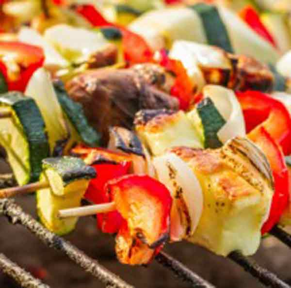 Paneer shashlik! Cook in an easy way