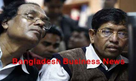 Bangladesh's stocks plunge at midday on Tuesday