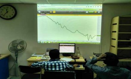 Turnover on Dhaka Stock Exchange dips 5b-mark