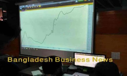 Bangladesh's stocks finish slightly higher after a month