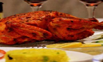 Let's enjoy spicy Tandoori murgh recipe