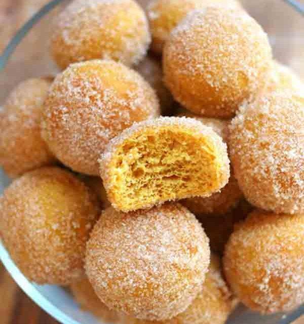 Yummiest carrot donuts