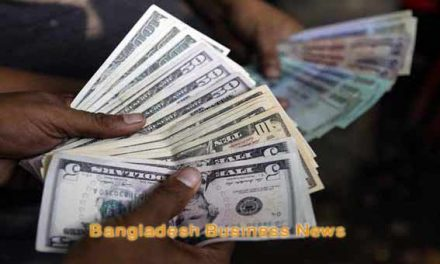 Bangladesh taka depreciates against US$ slightly
