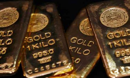 Gold prices slump in Asia on French polls results