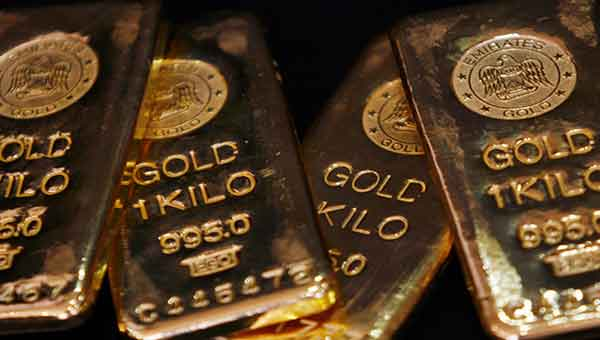 Gold gains in Asia after Fed minutes set dovish tone