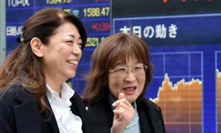 Asian markets mostly higher Thursday morning