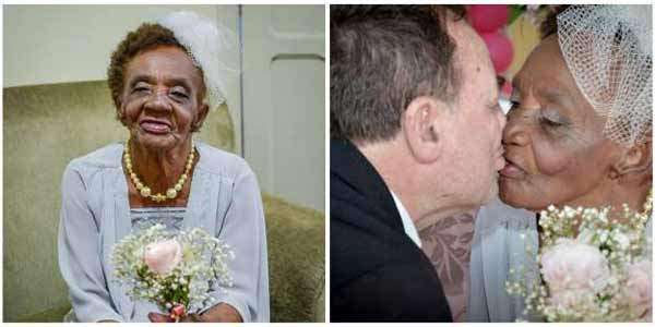 106-yr-old world's oldest fiancée got engage to her 66-yr-old boyfriend!