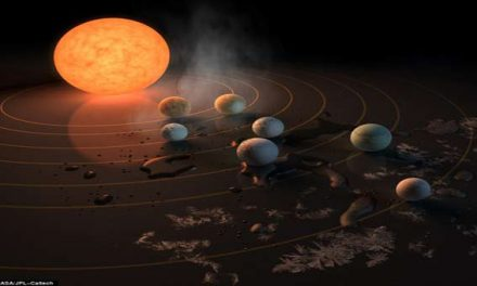 7 Earth-size planets found orbiting star, may hold life