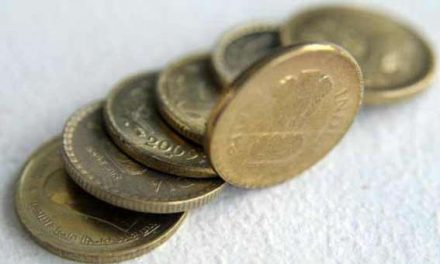 Indian Rupee trading weak at 66.82
