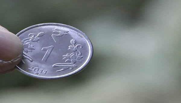 Indian Rupee pares initial losses