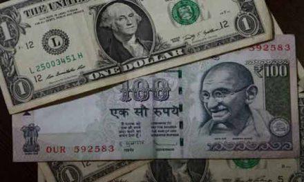 Indian Rupee trading flat at 67.01