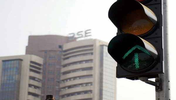 Sensex up 94 points