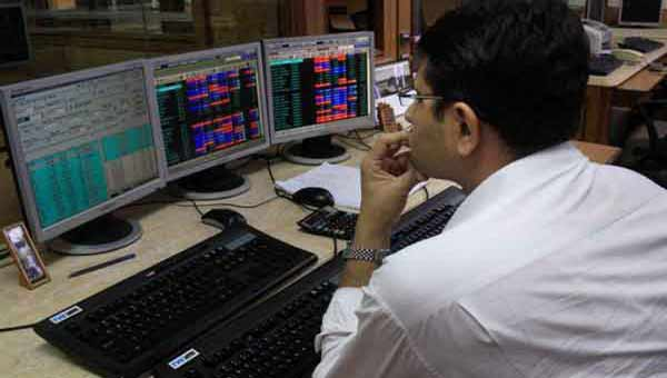 Sensex down 95 points
