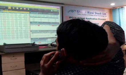 Bangladesh's stocks stay down at midday Monday