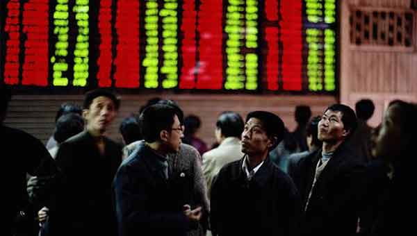 Asian stocks decline following Wall Street reversal