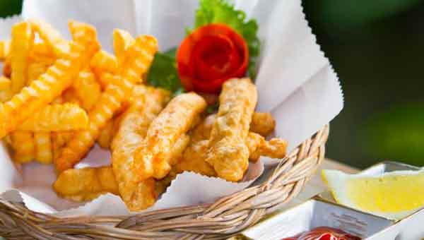 Crunchy baby corn fritters