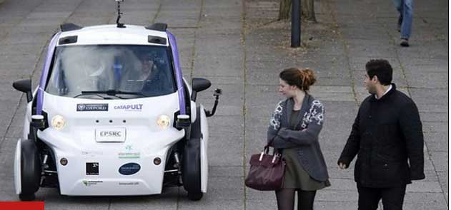 Driverless cars 'could lead to complacency'