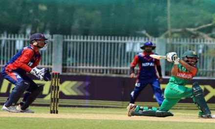 Nepal goes down to Bangladesh by 83 runs