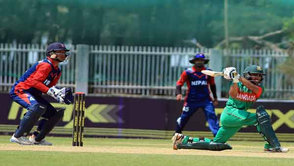 Nepal goes down to Bangladesh by 83 runs