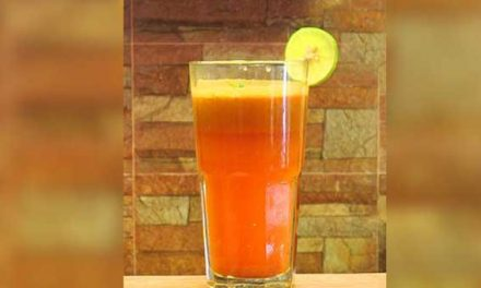 Orange and ginger detox drink