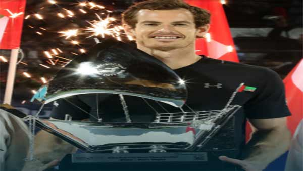 Murray powers to first Dubai title