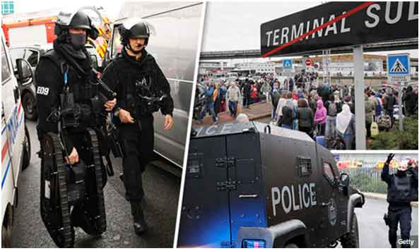 Orly airport: France launches terror investigation