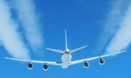 Climate change: Biofuels 'could limit jet contrails'