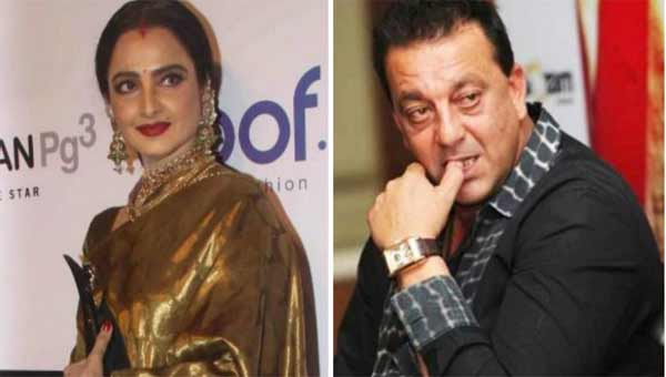Rekha's 'sindur' is not for Sanjay Dutt, they aren't married, says biographer