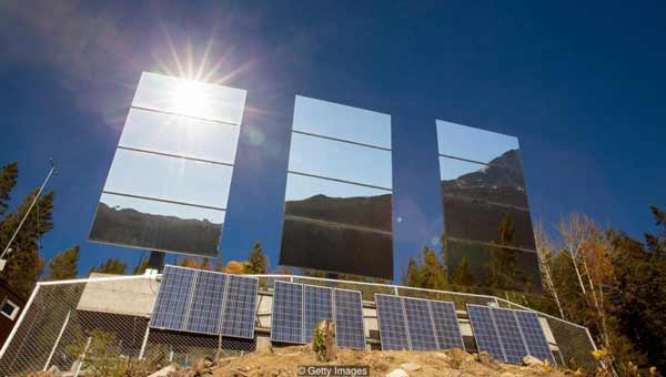 The dark town that built a giant mirror to deflect the sun