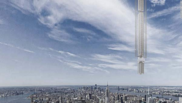 This skyscraper is out of this world literally