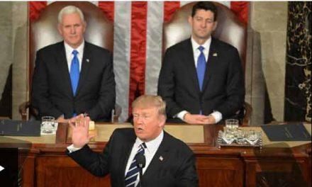 Trump touts 'renewal of American spirit'