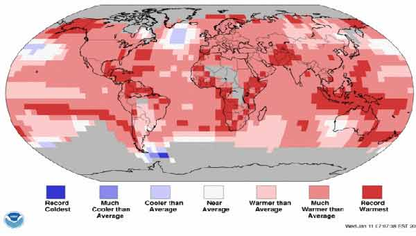 'Extreme' climate trends continue in 2017