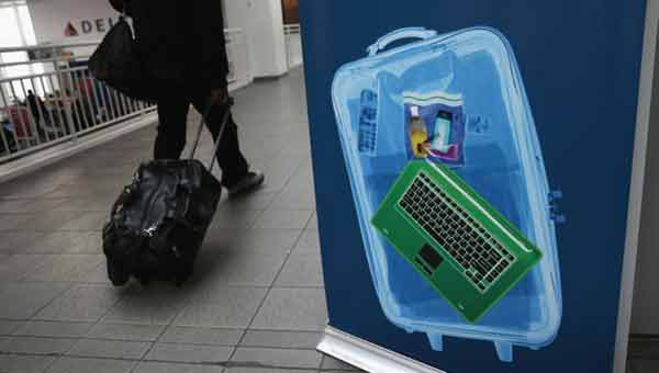 US to ban electronics on certain flights